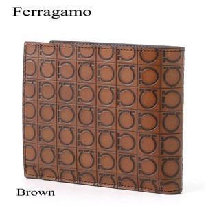 Ferragamo 財布 663555 ブラウン - 拡大画像