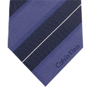 Calvin Klein (カルバンクライン) ネクタイ N-CKL-A00104 Blue系 - 拡大画像