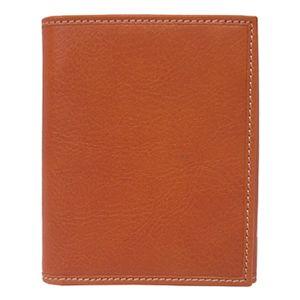 SCHEDONI(スケドーニ) 3つ折り財布 SL049M ブラウン系 - 拡大画像
