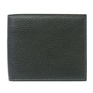 SCHEDONI(スケドーニ) 2つ折り財布 SL050M ブラック系 - 拡大画像