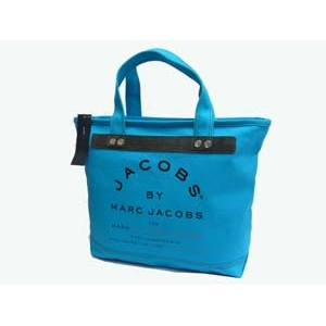 MARC BY MARC JACOBS トートバッグ MMJ 91066 Turquoise - 拡大画像