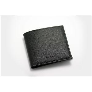 BVLGARI(ブルガリ)  二つ折り財布(小銭入れ付き) 20253 ブラック - 拡大画像