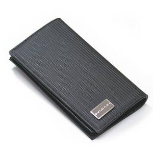 BVLGARI(ブルガリ)ミレリゲ 二つ折り長財布小銭入れ付き25550 ブラック  - 拡大画像
