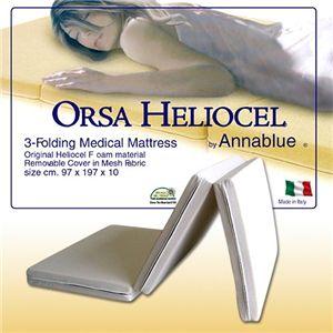 イタリア製 高反発HELIOCEL メディカルマットレス - 拡大画像
