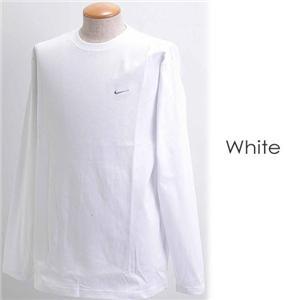 NIKE ロングスリーブTシャツ 115470 ホワイト L - 拡大画像