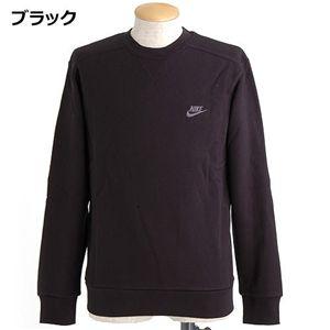 NIKE(ナイキ) ワンポイント刺繍裏毛スウェット 206927 ブラック Lサイズ - 拡大画像