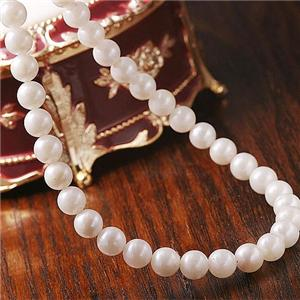 あこや真珠 パールネックレス FPN-SP00046 【本真珠】 - 拡大画像