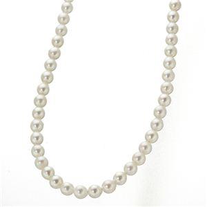 【訳あり・在庫処分】あこや真珠 8.5〜9mm珠 パールネックレス&パールピアス セット(鑑別カード付き) - 拡大画像