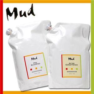 Mud(マッド) シャンプー&コンディショナー 各3L 詰め替え用セット - 拡大画像