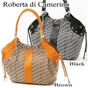 Roberta di Camerino(ロベルタ ディ カメリーノ)ショルダーバッグ 08-00401 ブラック - 拡大画像