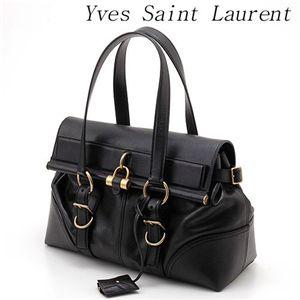 Yves Saint Laurent レザーバッグ 160285 C6D0G ブラック - 拡大画像