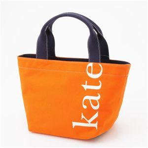 Kate Spade(ケイトスぺイド) キャンバストート wkru0587 オレンジ - 拡大画像