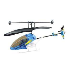 赤外線ミニヘリコプター ブルー - 拡大画像