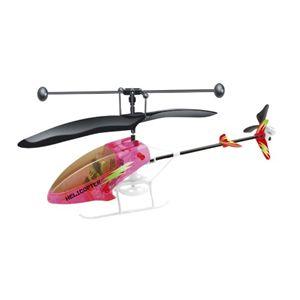 室内専用 赤外線ミニヘリコプター ピンク - 拡大画像
