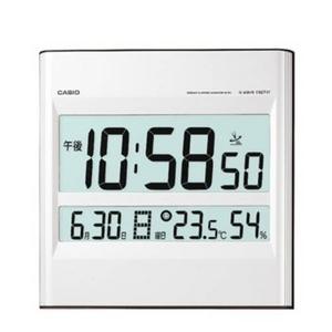 CASIO(カシオ) waveceptor 温度・湿度計付き電波壁掛け時計 ID-29J-8JF - 拡大画像