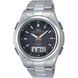 CITIZEN(シチズン) 腕時計 Q&Q MCS4-303 ブラック 【電波時計】 - 拡大画像