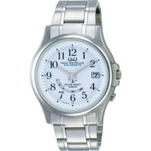 CITIZEN(シチズン) 腕時計 Q&Q HG00-204 シルバー 【電波時計】 - 拡大画像