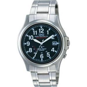 CITIZEN(シチズン) 腕時計 Q&Q HG00-205 ブラック 【電波時計】 - 拡大画像