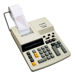 CANON(キャノン) 金融機関向け加算式プリンタータイプ電卓 MP1215-D VI - 拡大画像