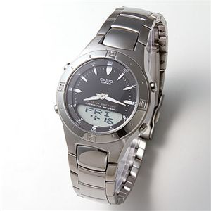 CASIO(カシオ) 腕時計 EFA-110D-1AJF/エディフィス・ブラック - 拡大画像