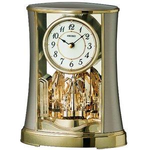 SEIKO CLOCK(セイコークロック) 回転飾り置時計 BY428G - 拡大画像