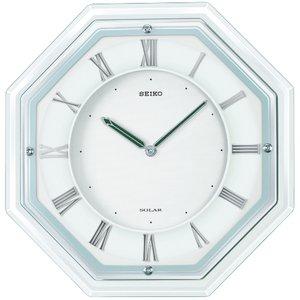 SEIKO CLOCK(セイコークロック) 電波ソーラー壁掛け時計 SF503W - 拡大画像