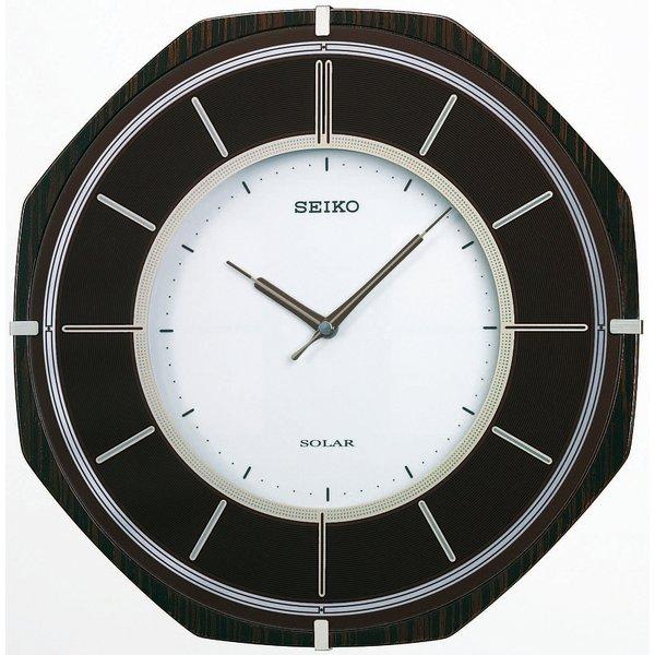 SEIKO CLOCK(セイコークロック) 電波ソーラー壁掛け時計 SF502B