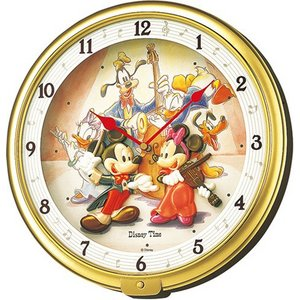 SEIKO CLOCK(セイコークロック) ミッキー&フレンズ メロディ掛け時計FW521G - 拡大画像