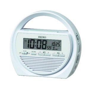 SEIKO CLOCK(セイコークロック) 防災クロック 電波修正機能付置時計SQ764W - 拡大画像