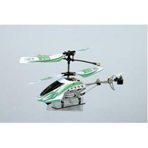 マイクロミニヘリコプター DS-X 【屋内可 赤外線通信】パステルグリーン - 拡大画像