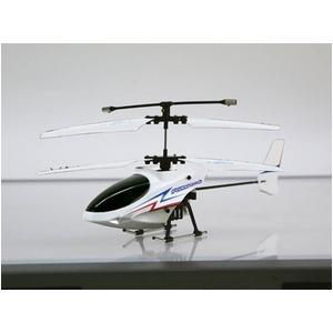 赤外線通信 ラジコンヘリコプター FLYING STAR 4S フライングスター ホワイト - 拡大画像