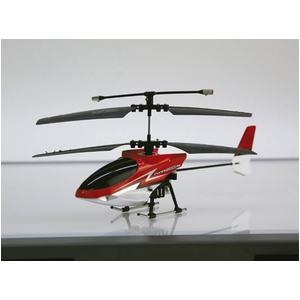 ラジコンヘリコプター FLYING STAR 4S 〜フライングスター4S〜 レッド - 拡大画像
