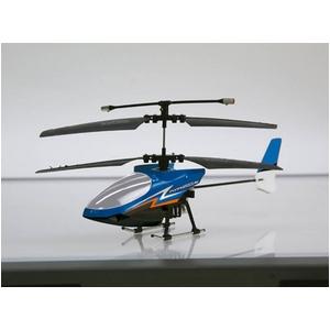 赤外線通信 ラジコンヘリコプター FLYING STAR 4S フライングスター ブルー - 拡大画像
