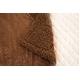 マイクロファイバーぬくぬく2枚合わせ毛布(ボリュームタイプ) ダブル ブラウン - 縮小画像3
