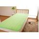 ふっくらマシュマロタッチ マイクロファイバー毛布&敷きパッドセット シングル グリーン - 縮小画像3