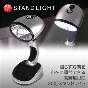 30灯LEDスタンドライト - 拡大画像