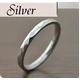 ステンレスリング ダイヤモンドカット細身リング シルバーカラー 5号 - 縮小画像2