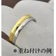 ステンレスリング ダイヤモンドカット細身リング シルバーカラー 5号 - 縮小画像3