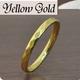 ステンレスリング ダイヤモンドカット細身リング ゴールドカラー 5号 - 縮小画像2