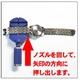 ゴールド・シルバーのコンビカラー メタルバンドウォッチ サイズ調節可能(工具つき) - 縮小画像2