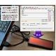 【ブルー】ミニLEDサインボード10x3cm 電光掲示板 ネームプレート・値札に!  - 縮小画像3