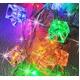 ソーラーイルミネーションライトコード カラフル40灯LEDキューブライト(4.5m) - 縮小画像2
