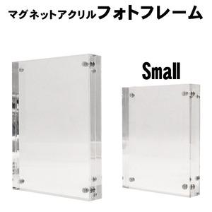 【5個セット】マグネットアクリルフォトフレーム-Sサイズ- - 拡大画像