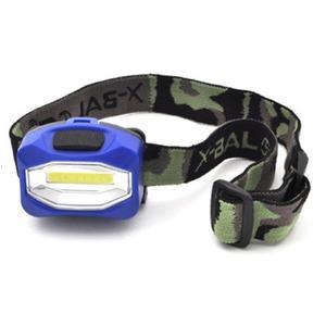 レジャーや防災用に LEDヘッドライト(ブルー) 【5個セット】 - 拡大画像