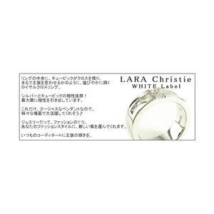 LARA Christie(ララクリスティー) ロイヤル クロス リング 9号 [WHITE Label] - 拡大画像