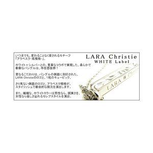 ☆Ane Can専属モデル☆真山景子さん着用ブランド♪LARA Christie(ララクリスティー) セイントグラス ネックレス[WHITE Label] - 拡大画像