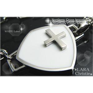 LARA Christie(ララクリスティー) ノーザンクロスブレスレット[WHITE Label] - 拡大画像