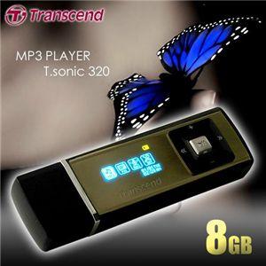 Transcend MP3プレーヤー T.sonic 320 8GB - 拡大画像
