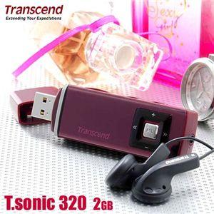 Transcend MP3プレーヤー T.sonic 320 2GB - 拡大画像