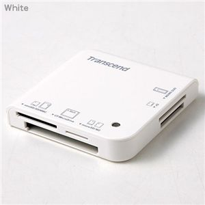 Tanscend microSD 2GB+カードリーダーM5セット White - 拡大画像